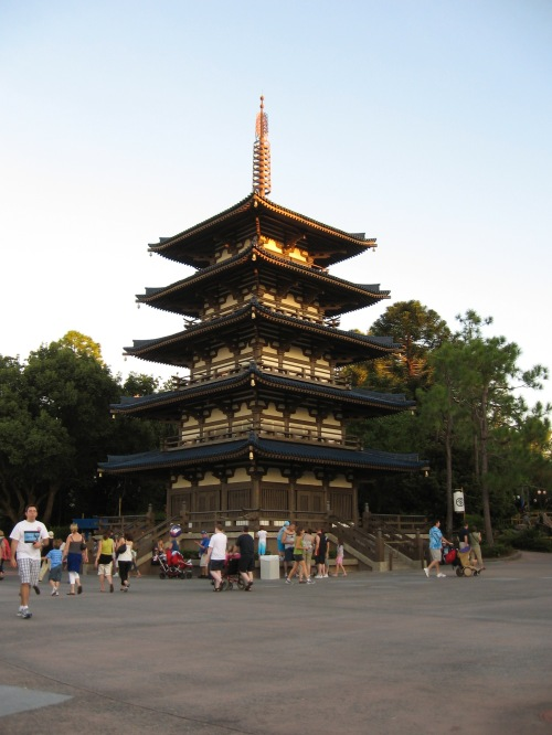 The Japanese pavilion