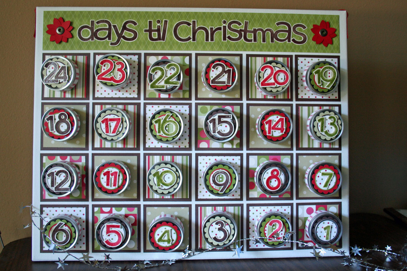 Th day of christmas advent calendars val city gal