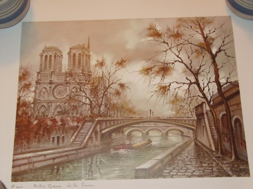 Print of Notre Dame