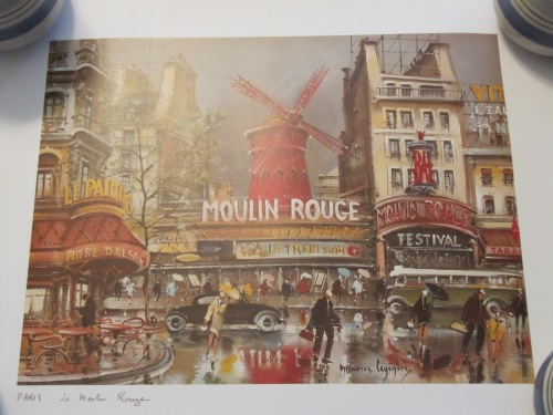 Print of the Moulin Rouge