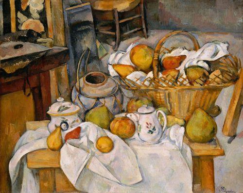 Cezanne - La Table de cuisine