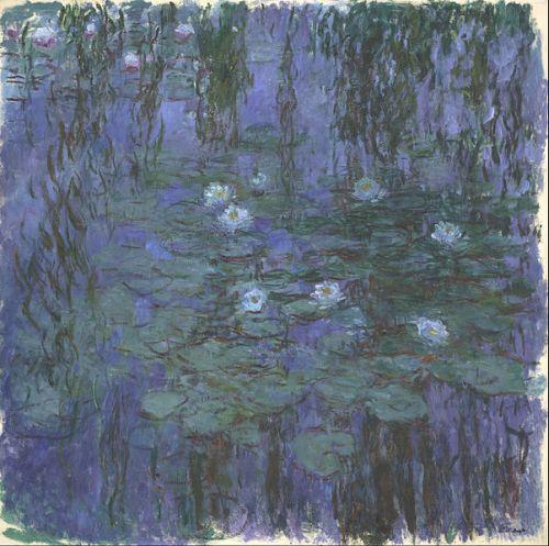 Monet - Blue Water Lilies
