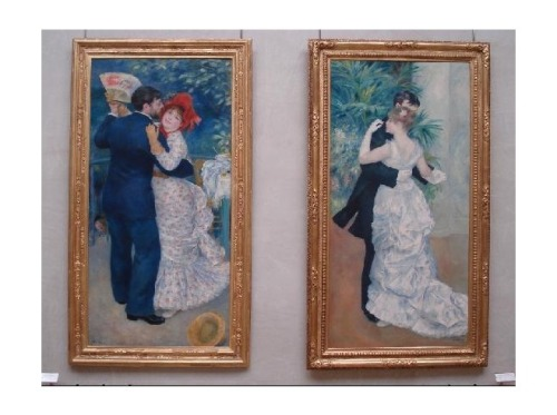 Renoir - Danse à la campagne (left) and Renoir - Danse à la ville (right)