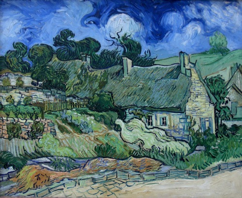 Van Gogh - Chaumes de Cordeville à Auvers