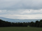 Dublin mountains in the background...