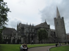 We then headed over to St. Patrick's to visit