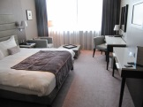Photo of my hotel room - modern and comfortable
