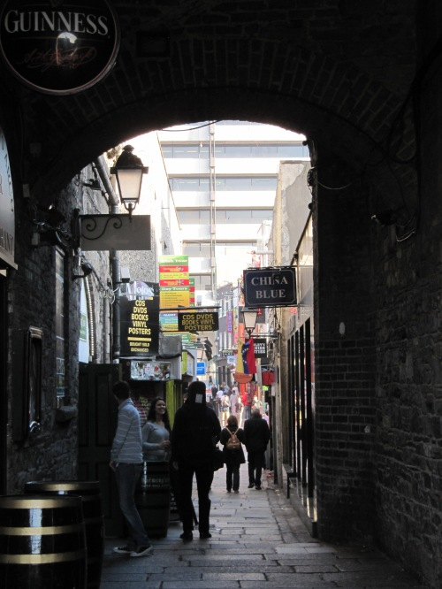 And ventured down little alleys...