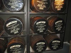 Whiskey barrels!