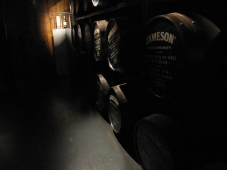 Dramatic photo of the barrels :)