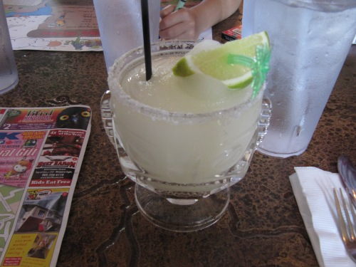 Everything is better with a margarita. :)