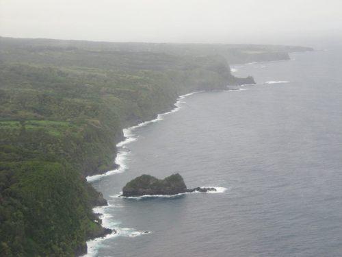 Jurassic Park island - pre-CGI